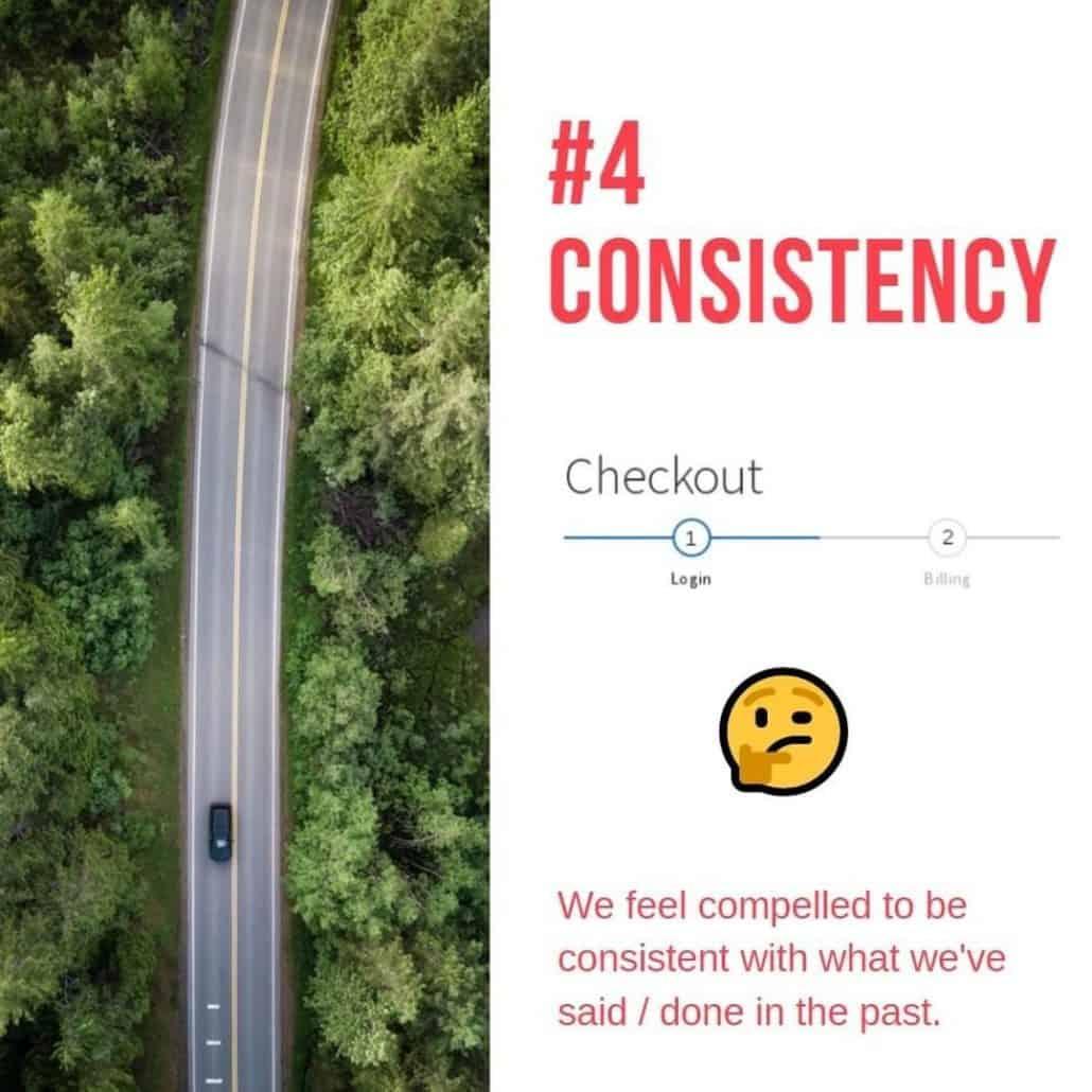 4th persuasive technique consistency